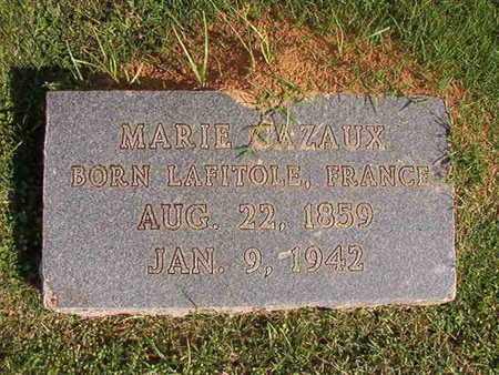 CAZAUX, MARIE - Caddo County, Louisiana   MARIE CAZAUX - Louisiana Gravestone Photos