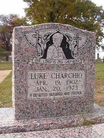 CHARCHIO, LUKE - Caddo County, Louisiana | LUKE CHARCHIO - Louisiana Gravestone Photos