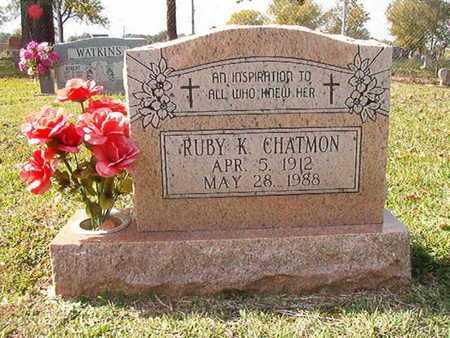 CHATMON, RUBY K - Caddo County, Louisiana   RUBY K CHATMON - Louisiana Gravestone Photos