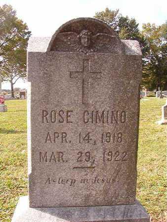 CIMINO, ROSE - Caddo County, Louisiana | ROSE CIMINO - Louisiana Gravestone Photos