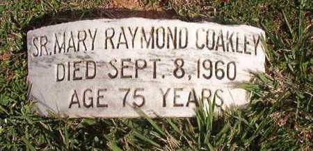 RAYMOND COAKLEY, MARY, SR - Caddo County, Louisiana | MARY, SR RAYMOND COAKLEY - Louisiana Gravestone Photos