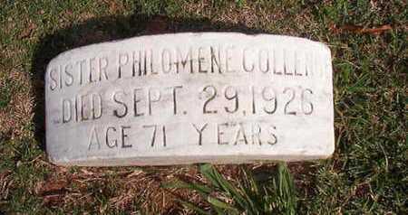 COLLENGE, SISTER, PHILOMENE - Caddo County, Louisiana | PHILOMENE COLLENGE, SISTER - Louisiana Gravestone Photos