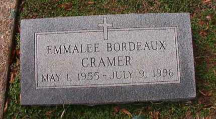 BORDEAUX CRAMER, EMMALEE - Caddo County, Louisiana | EMMALEE BORDEAUX CRAMER - Louisiana Gravestone Photos