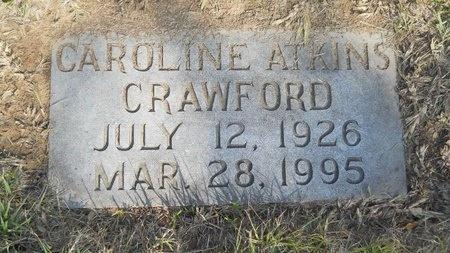 CRAWFORD, CAROLINE - Caddo County, Louisiana   CAROLINE CRAWFORD - Louisiana Gravestone Photos