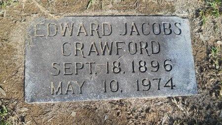 CRAWFORD, EDWARD JACOBS - Caddo County, Louisiana | EDWARD JACOBS CRAWFORD - Louisiana Gravestone Photos