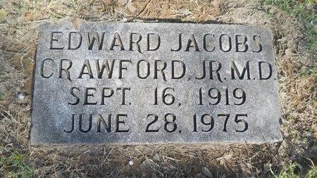 CRAWFORD, EDWARD JACOBS, JR MD - Caddo County, Louisiana | EDWARD JACOBS, JR MD CRAWFORD - Louisiana Gravestone Photos