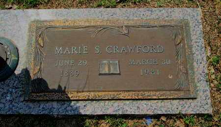 CRAWFORD, MARIE S - Caddo County, Louisiana | MARIE S CRAWFORD - Louisiana Gravestone Photos