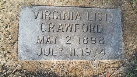 CRAWFORD, VIRGINIA - Caddo County, Louisiana | VIRGINIA CRAWFORD - Louisiana Gravestone Photos