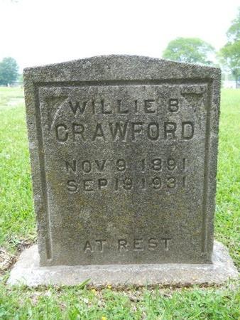 CRAWFORD, WILLIE B - Caddo County, Louisiana | WILLIE B CRAWFORD - Louisiana Gravestone Photos