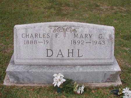DAHL, CHARLES F - Caddo County, Louisiana | CHARLES F DAHL - Louisiana Gravestone Photos