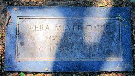 DAVIS, VERA - Caddo County, Louisiana | VERA DAVIS - Louisiana Gravestone Photos