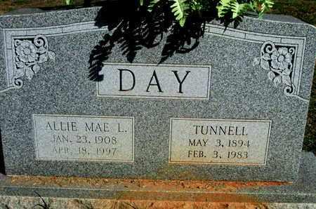 DAY, TUNNELL - Caddo County, Louisiana   TUNNELL DAY - Louisiana Gravestone Photos