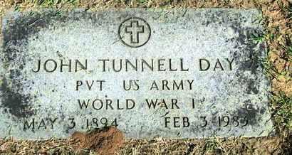 DAY, JOHN TUNNELL (VETERAN WWI) - Caddo County, Louisiana   JOHN TUNNELL (VETERAN WWI) DAY - Louisiana Gravestone Photos