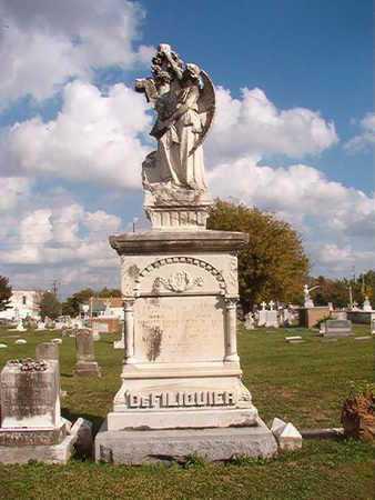 DEFILIQUIER, MONUMENT - Caddo County, Louisiana   MONUMENT DEFILIQUIER - Louisiana Gravestone Photos