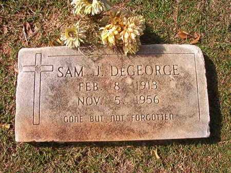DEGEORGE, SAM J - Caddo County, Louisiana | SAM J DEGEORGE - Louisiana Gravestone Photos