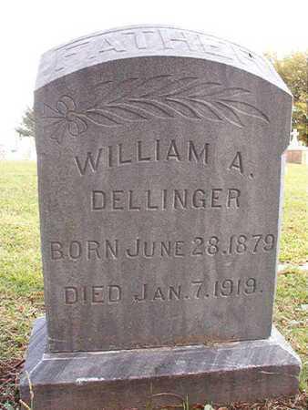 DELLINGER, WILLIAM A - Caddo County, Louisiana | WILLIAM A DELLINGER - Louisiana Gravestone Photos