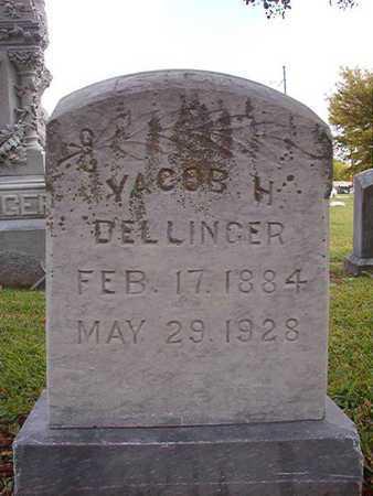 DELLINGER, YACOB H - Caddo County, Louisiana | YACOB H DELLINGER - Louisiana Gravestone Photos