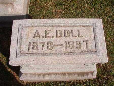 DOLL, A E - Caddo County, Louisiana | A E DOLL - Louisiana Gravestone Photos