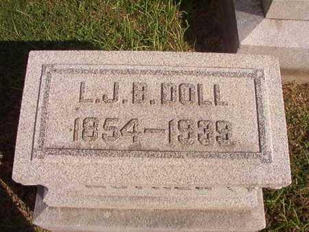 DOLL, L J B - Caddo County, Louisiana | L J B DOLL - Louisiana Gravestone Photos