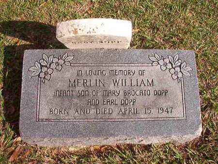 DOPP, MERLIN WILLIAM - Caddo County, Louisiana | MERLIN WILLIAM DOPP - Louisiana Gravestone Photos