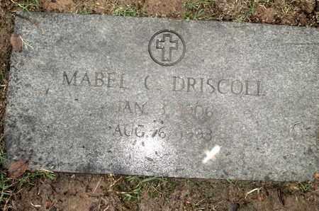 DRISCOLL, MABEL C - Caddo County, Louisiana | MABEL C DRISCOLL - Louisiana Gravestone Photos