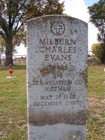 EVANS, MILBURN CHARLES (VETERAN VIET) - Caddo County, Louisiana   MILBURN CHARLES (VETERAN VIET) EVANS - Louisiana Gravestone Photos