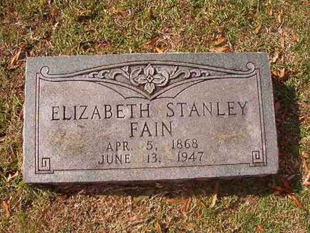 FAIN, ELIZABETH - Caddo County, Louisiana   ELIZABETH FAIN - Louisiana Gravestone Photos