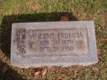 FEDUCIA, VINCENT - Caddo County, Louisiana | VINCENT FEDUCIA - Louisiana Gravestone Photos