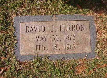 FERRON, DAVID J - Caddo County, Louisiana | DAVID J FERRON - Louisiana Gravestone Photos