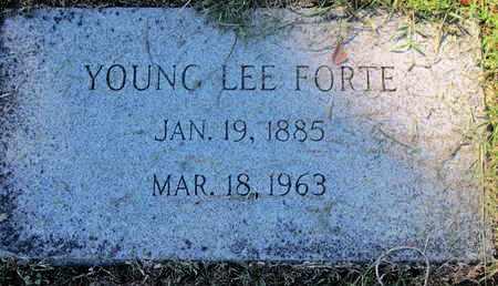 FORTE, YOUNG LEE - Caddo County, Louisiana | YOUNG LEE FORTE - Louisiana Gravestone Photos
