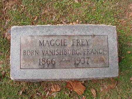 FREY, MAGGIE - Caddo County, Louisiana | MAGGIE FREY - Louisiana Gravestone Photos