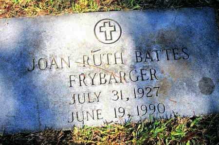 FRYBARGER, JOHN RUTH - Caddo County, Louisiana | JOHN RUTH FRYBARGER - Louisiana Gravestone Photos