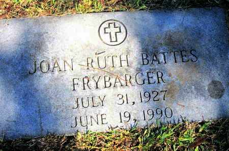 BATTES FRYBARGER, JOHN RUTH - Caddo County, Louisiana   JOHN RUTH BATTES FRYBARGER - Louisiana Gravestone Photos