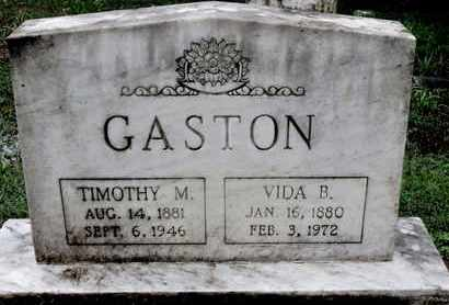 BULLOCK GASTON, VIDA - Caddo County, Louisiana | VIDA BULLOCK GASTON - Louisiana Gravestone Photos