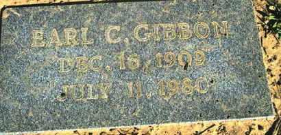 GIBBON, EARL C - Caddo County, Louisiana   EARL C GIBBON - Louisiana Gravestone Photos