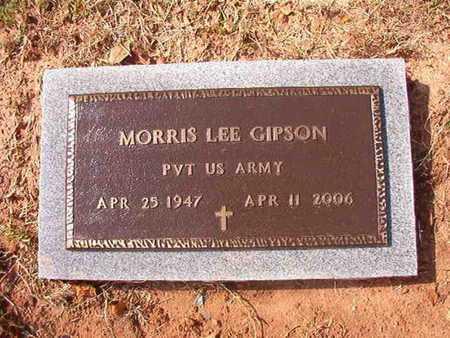 GIPSON, MORRIS LEE (VETERAN) - Caddo County, Louisiana | MORRIS LEE (VETERAN) GIPSON - Louisiana Gravestone Photos