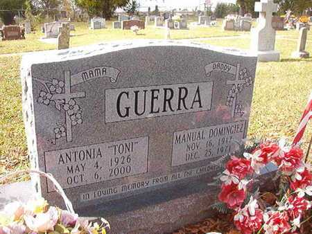 GUERRA, MANUAL DOMINGIEZ - Caddo County, Louisiana | MANUAL DOMINGIEZ GUERRA - Louisiana Gravestone Photos