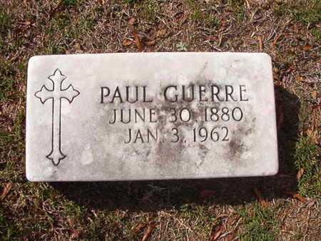 GUERRE, PAUL - Caddo County, Louisiana | PAUL GUERRE - Louisiana Gravestone Photos
