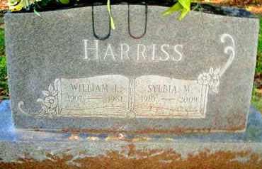 HARRISS, SYLBIA M - Caddo County, Louisiana | SYLBIA M HARRISS - Louisiana Gravestone Photos