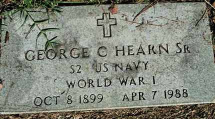 HEARN, GEORGE C (VETERAN WWI) - Caddo County, Louisiana | GEORGE C (VETERAN WWI) HEARN - Louisiana Gravestone Photos