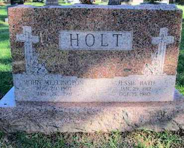 HOLT, JESSIE - Caddo County, Louisiana | JESSIE HOLT - Louisiana Gravestone Photos