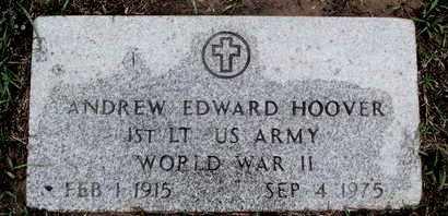 HOOVER, ANDREW EDWARD (VETERAN WWII) - Caddo County, Louisiana | ANDREW EDWARD (VETERAN WWII) HOOVER - Louisiana Gravestone Photos