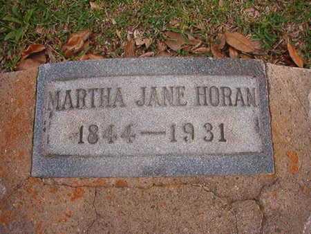 HORAN, MARTHA JANE - Caddo County, Louisiana   MARTHA JANE HORAN - Louisiana Gravestone Photos