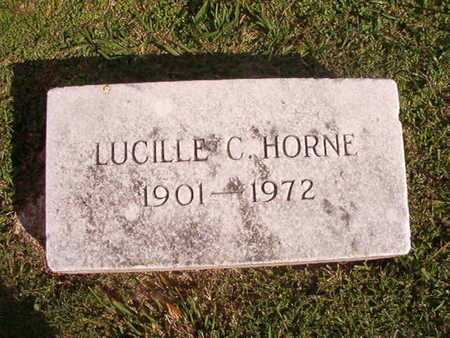 HORNE, LUCILLE C - Caddo County, Louisiana | LUCILLE C HORNE - Louisiana Gravestone Photos