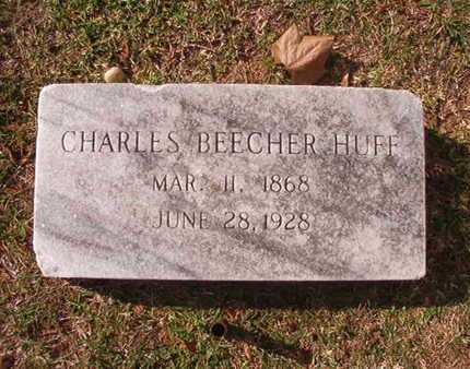 HUFF, CHARLES BEECHER - Caddo County, Louisiana | CHARLES BEECHER HUFF - Louisiana Gravestone Photos