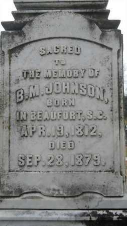 JOHNSON, B M - Caddo County, Louisiana | B M JOHNSON - Louisiana Gravestone Photos