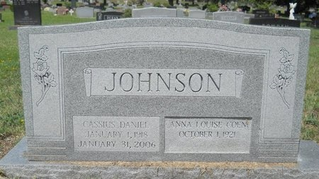 JOHNSON, CASSIUS DANIEL - Caddo County, Louisiana   CASSIUS DANIEL JOHNSON - Louisiana Gravestone Photos