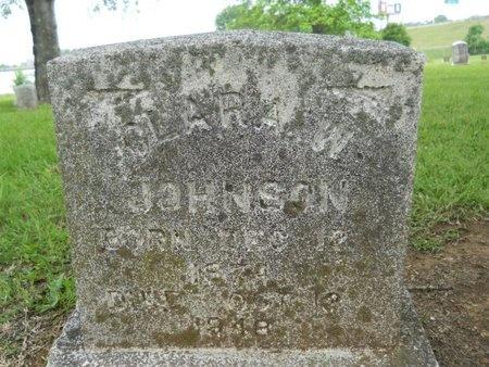 JOHNSON, CLARA W - Caddo County, Louisiana | CLARA W JOHNSON - Louisiana Gravestone Photos