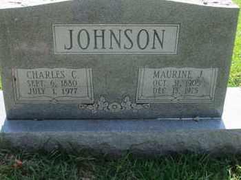 JOHNSON, CHARLES C - Caddo County, Louisiana | CHARLES C JOHNSON - Louisiana Gravestone Photos