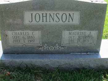 JOHNSON, MAURINE J - Caddo County, Louisiana | MAURINE J JOHNSON - Louisiana Gravestone Photos